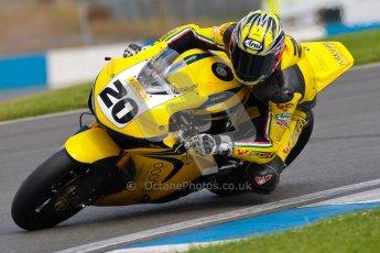 © Octane Photographic Ltd/Chris Enion 2012. British Superbikes test day – Donington Park, Tuesday 7th August 2012. Tom Tunstall - Doodson Motorsport. Digital Ref : 0450CE1D0636
