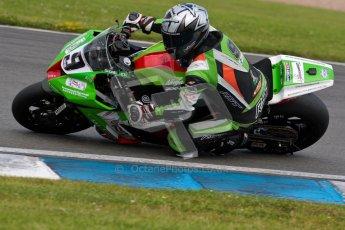 © Octane Photographic Ltd/Chris Enion 2012. British Superbikes test day – Donington Park, Tuesday 7th August 2012. Chris Walker - Primo Bournmouth Kawasaki. Digital Ref : 0450CE1D0803
