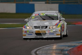 © Octane Photographic Ltd. BTCC - Round Two - Donington Park - Quail. Saturday 14th April 2012. Tom Onslow-Cole, BMW320si, eBay Motors. Digital ref : 0294lw1d7523