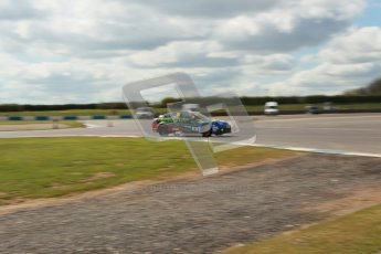 © Octane Photographic Ltd. BTCC - Round Two - Donington Park - Race 1. Sunday 15th April 2012. Jason Plato at speed through the Esses. Digital ref : 0295lw1d7900