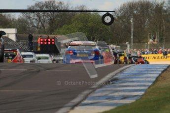 © Octane Photographic Ltd. BTCC - Round Two - Donington Park - Race 1. Sunday 15th April 2012. Digital ref : 0295lw7d3430