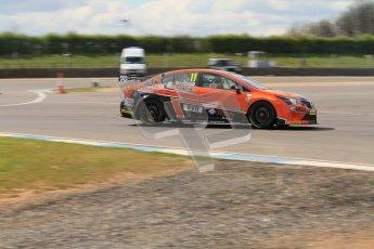 © Octane Photographic Ltd. BTCC - Round Two - Donington Park - Race 1. Sunday 15th April 2012. Frank Wrathall, Toyota Avensis, Dynojet. Digital ref : 0295lw7d3742