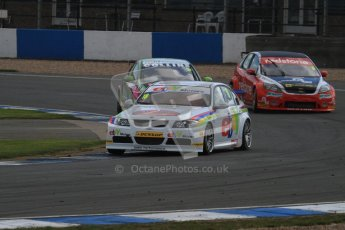 © Octane Photographic Ltd. BTCC - Round Two - Donington Park - Race 2. Sunday 15th April 2012. Nick Foster, BMW 320si, eBay Motors. Digital ref : 0296lw7d4719