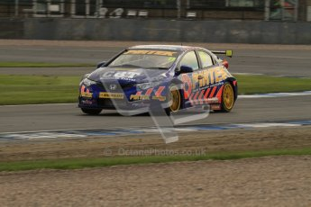 © Octane Photographic Ltd. BTCC - Round Two - Donington Park - Race 2. Sunday 15th April 2012. Andrew jordan, Honda Civic, Pirtek Racing. Digital ref : 0296lw7d5059