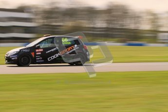 © Octane Photographic Ltd. BTCC - Round Two - Donington Park. AirAsia Renault UK Clio Cup Championship practice. Saturday 14th April 2012. Josh Cook, 20Ten Racing. Digital ref : 0292lw7d2906