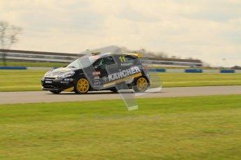 © Octane Photographic Ltd. BTCC - Round Two - Donington Park. AirAsia Renault UK Clio Cup Championship practice. Saturday 14th April 2012. Simon Belcher, Handy Motorsport with Pyro. Digital ref : 0292lw7d2918