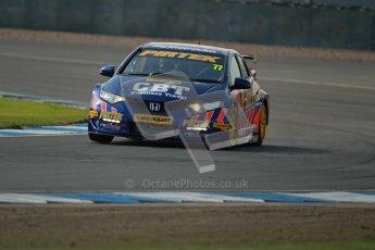 © Octane Photographic Ltd. BTCC - Round Two - Donington Park. Free Practice. Saturday 14th April 2012. Andrew Jordan, Honda Civic, Pirtek Racing. Digital ref : 0291lw1d6158