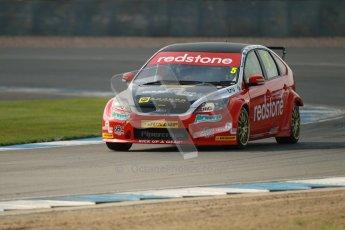 © Octane Photographic Ltd. BTCC - Round Two - Donington Park. Free Practice. Saturday 14th April 2012. Aron Smith, Ford Focus, Redstone Racing. Digital ref : 0291lw1d6273