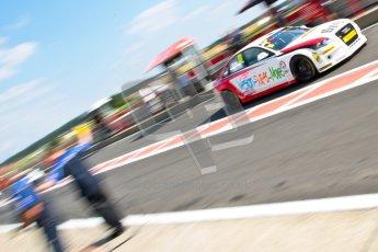 © Octane Photographic Ltd./Chris Enion. British Touring Car Championship – Round 6, Snetterton, Saturday 11th August 2012. Qualifying. Rob Austin - Rob Austin Racing, Audi A4. Digital Ref : 0454ce1d0054
