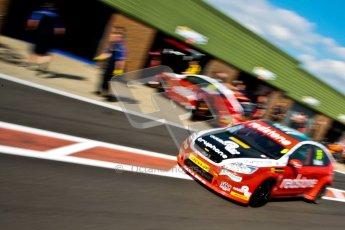 © Octane Photographic Ltd./Chris Enion. British Touring Car Championship – Round 6, Snetterton, Saturday 11th August 2012. Qualifying. Aron Smith - Redstone Racing, Ford Focus. Digital Ref : 0454ce1d0223