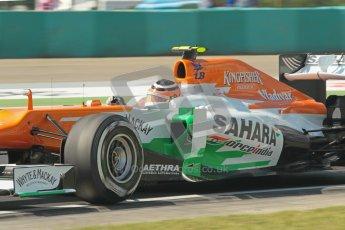 © 2012 Octane Photographic Ltd. Hungarian GP Hungaroring - Saturday 28th July 2012 - F1 Qualifying. Force India VJM05 - Nico Hulkenberg. Digital Ref : 0430lw1d7151