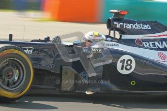 © 2012 Octane Photographic Ltd. Hungarian GP Hungaroring - Saturday 28th July 2012 - F1 Qualifying. Williams FW34 - Pastor Maldonado. Digital Ref : 0430lw1d7255