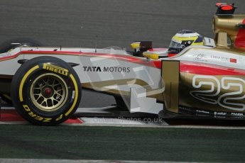 © 2012 Octane Photographic Ltd. Hungarian GP Hungaroring - Saturday 28th July 2012 - F1 Qualifying. HRT F112 - Pedro de La Rosa. Digital Ref : 0430lw7d6757