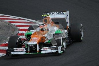 © 2012 Octane Photographic Ltd. Hungarian GP Hungaroring - Saturday 28th July 2012 - F1 Qualifying. Force India VJM05 - Nico Hulkenberg. Digital Ref : 0430lw7d6761