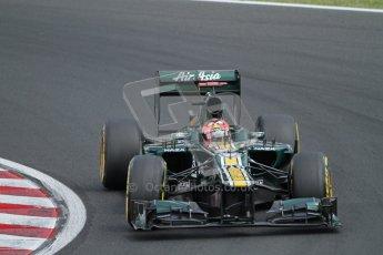 © 2012 Octane Photographic Ltd. Hungarian GP Hungaroring - Saturday 28th July 2012 - F1 Qualifying. Caterham CT01 - Heikki Kovalainen. Digital Ref : 0430lw7d6891