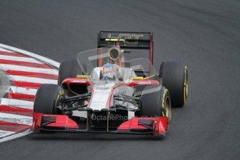 © 2012 Octane Photographic Ltd. Hungarian GP Hungaroring - Saturday 28th July 2012 - F1 Qualifying. HRT F112 - Narain Karthikeyan. Digital Ref : 0430lw7d6902