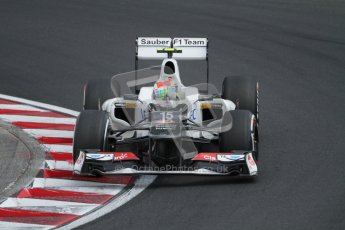 © 2012 Octane Photographic Ltd. Hungarian GP Hungaroring - Saturday 28th July 2012 - F1 Qualifying. Sauber C31 - Sergio Perez. Digital Ref : 0430lw7d6908
