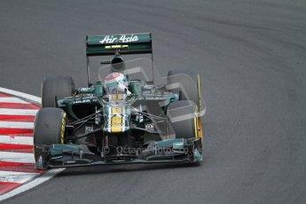 © 2012 Octane Photographic Ltd. Hungarian GP Hungaroring - Saturday 28th July 2012 - F1 Qualifying. Caterham CT01 - Vitaly Petrov. Digital Ref : 0430lw7d6924