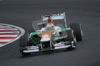 © 2012 Octane Photographic Ltd. Hungarian GP Hungaroring - Saturday 28th July 2012 - F1 Qualifying. Force India VJM05 - Paul di Resta. Digital Ref : 0430lw7d7345