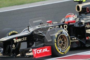 © 2012 Octane Photographic Ltd. Hungarian GP Hungaroring - Saturday 28th July 2012 - F1 Qualifying. Lotus E20 - Romain Grosjean. Digital Ref : 0430lw7d7506