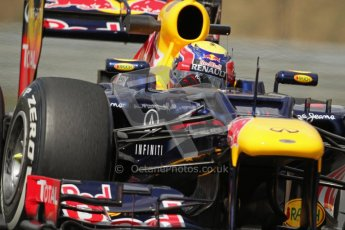 © 2012 Octane Photographic Ltd. Hungarian GP Hungaroring - Friday 27th July 2012 - F1 Practice 2. Red Bull RB8 - Mark Webber. Digital Ref : 0426lw7d5285