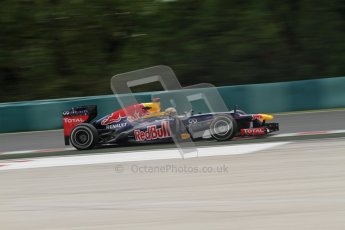 © 2012 Octane Photographic Ltd. Hungarian GP Hungaroring - Friday 27th July 2012 - F1 Practice 2. Red Bull RB8 - Sebastian Vettel. Digital Ref : 0426lw7d5550