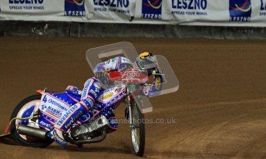 © Carl Jones/Octane Photographic Ltd. FIM FOGO British Speedway GP, Millennium Stadium, Cardiff, Friday 24th August 2012. Jason Crump. Digital Ref : 0479cj7d8753