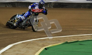 © Carl Jones/Octane Photographic Ltd. FIM FOGO British Speedway GP, Millennium Stadium, Cardiff, Friday 24th August 2012. Fredrik Lindgren. Digital Ref : 0479cj7d8806