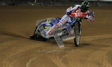 © Carl Jones/Octane Photographic Ltd. FIM FOGO British Speedway GP, Millennium Stadium, Cardiff, Friday 24th August 2012. Tomasz Gollob. Digital Ref : 0479cj7d9042