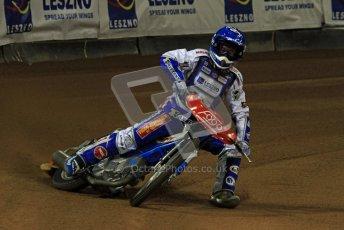 © Carl Jones/Octane Photographic Ltd. FIM FOGO British Speedway GP, Millennium Stadium, Cardiff, Friday 24th August 2012. Nicki Pedersen. Digital Ref : 0479cj7d9093
