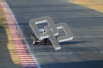 © 2012 Octane Photographic Ltd. Barcelona Winter Test 1 Day 1 - Tuesday 21st February 2012. Sauber C31 - Sergio Perez. Digital Ref : 0226lw1d6199