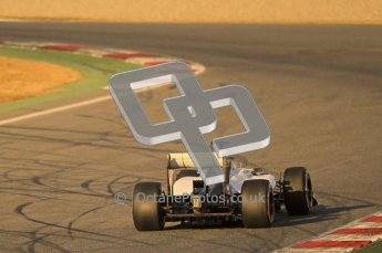 © 2012 Octane Photographic Ltd. Barcelona Winter Test 1 Day 1 - Tuesday 21st February 2012. Sauber C31 - Sergio Perez. Digital Ref : 0226lw1d6205