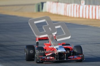 © 2012 Octane Photographic Ltd. Barcelona Winter Test 1 Day 1 - Tuesday 21st February 2012. MVR02 - Charles Pic. Digital Ref : 0226lw1d6288