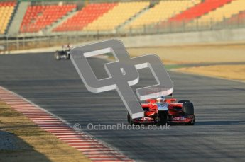 © 2012 Octane Photographic Ltd. Barcelona Winter Test 1 Day 1 - Tuesday 21st February 2012. MVR02 - Charles Pic. Digital Ref : 0226lw1d6400