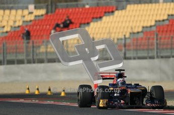 © 2012 Octane Photographic Ltd. Barcelona Winter Test 1 Day 1 - Tuesday 21st February 2012. Toro Rosso STR7 - Daniel Ricciardo. Digital Ref : 0226lw1d6893