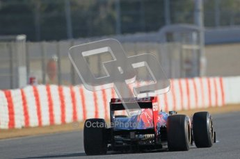 © 2012 Octane Photographic Ltd. Barcelona Winter Test 1 Day 1 - Tuesday 21st February 2012. Toro Rosso STR7 - Daniel Ricciardo. Digital Ref : 0226lw1d6937