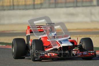 © 2012 Octane Photographic Ltd. Barcelona Winter Test 1 Day 1 - Tuesday 21st February 2012. MVR02 - Charles Pic. Digital Ref : 0226lw1d6961
