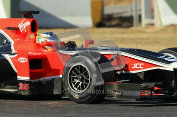 © 2012 Octane Photographic Ltd. Barcelona Winter Test 1 Day 1 - Tuesday 21st February 2012. MVR02 - Charles Pic. Digital Ref :