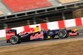 © 2012 Octane Photographic Ltd. Barcelona Winter Test 1 Day 1 - Tuesday 21st February 2012. Red Bull RB8 - Sebastian Vettel. Digital Ref : 0226lw7d5063
