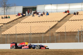 © 2012 Octane Photographic Ltd. Barcelona Winter Test 1 Day 1 - Tuesday 21st February 2012. Red Bull RB8 - Sebastian Vettel. Digital Ref : 0226lw7d5291