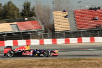 © 2012 Octane Photographic Ltd. Barcelona Winter Test 1 Day 1 - Tuesday 21st February 2012. Red Bull RB8 - Sebastian Vettel. Digital Ref : 0226lw7d5304