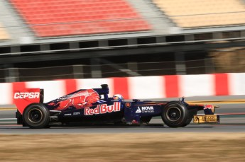 © 2012 Octane Photographic Ltd. Barcelona Winter Test 1 Day 1 - Tuesday 21st February 2012. Toro Rosso STR7 - Daniel Ricciardo. Digital Ref : 0226lw7d5466