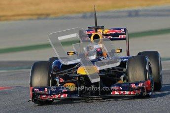© 2012 Octane Photographic Ltd. Barcelona Winter Test 1 Day 2 - Wednesday 21st February 2012. Red Bull RB8 - Sebastian Vettel. Digital Ref : 0227lw1d7503