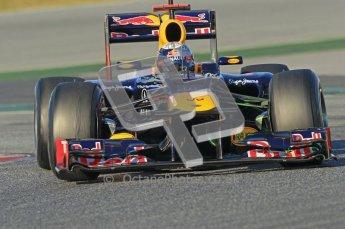 © 2012 Octane Photographic Ltd. Barcelona Winter Test 1 Day 2 - Wednesday 21st February 2012. Red Bull RB8 - Sebastian Vettel. Digital Ref : 0227lw1d7745