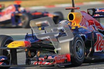 © 2012 Octane Photographic Ltd. Barcelona Winter Test 1 Day 2 - Wednesday 21st February 2012. Red Bull RB8 - Sebastian Vettel. Digital Ref : 0227lw1d7752