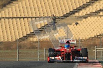 © 2012 Octane Photographic Ltd. Barcelona Winter Test 1 Day 2 - Wednesday 21st February 2012. Ferrari F2012 - Fernando Alonso. Digital Ref : 0227lw1d8166