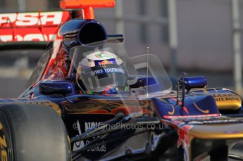 © 2012 Octane Photographic Ltd. Barcelona Winter Test 1 Day 2 - Wednesday 21st February 2012. Toro Rosso STR7 - Daniel Ricciardo. Digital Ref : 0227lw1d9413