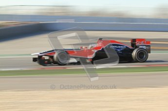 © 2012 Octane Photographic Ltd. Barcelona Winter Test 1 Day 2 - Wednesday 21st February 2012. MVR02 - Charles Pic. Digital Ref : 0227lw7d6082