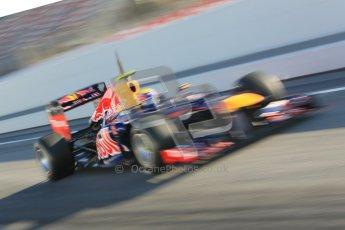 © 2012 Octane Photographic Ltd. Barcelona Winter Test 1 Day 3 - Thursday 23rd February 2012. Red Bull RB8 - Mark Webber. Digital Ref : 0228cb1d9483
