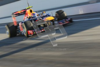 © 2012 Octane Photographic Ltd. Barcelona Winter Test 1 Day 3 - Thursday 23rd February 2012. Red Bull RB8 - Mark Webber. Digital Ref : 0228cb1d9495
